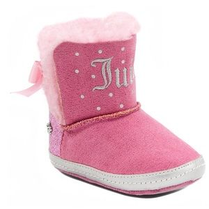 Juicy Couture Lil Burbank crib boots